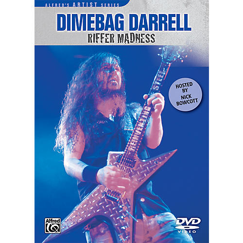 Alfred Dimebag Darrell - Riffer Madness DVD thumbnail