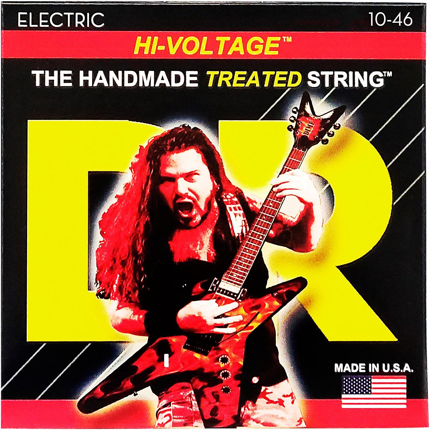 DR Strings Dimebag Darrell DBG-10 Medium Hi-Voltage Electric Guitar Strings thumbnail