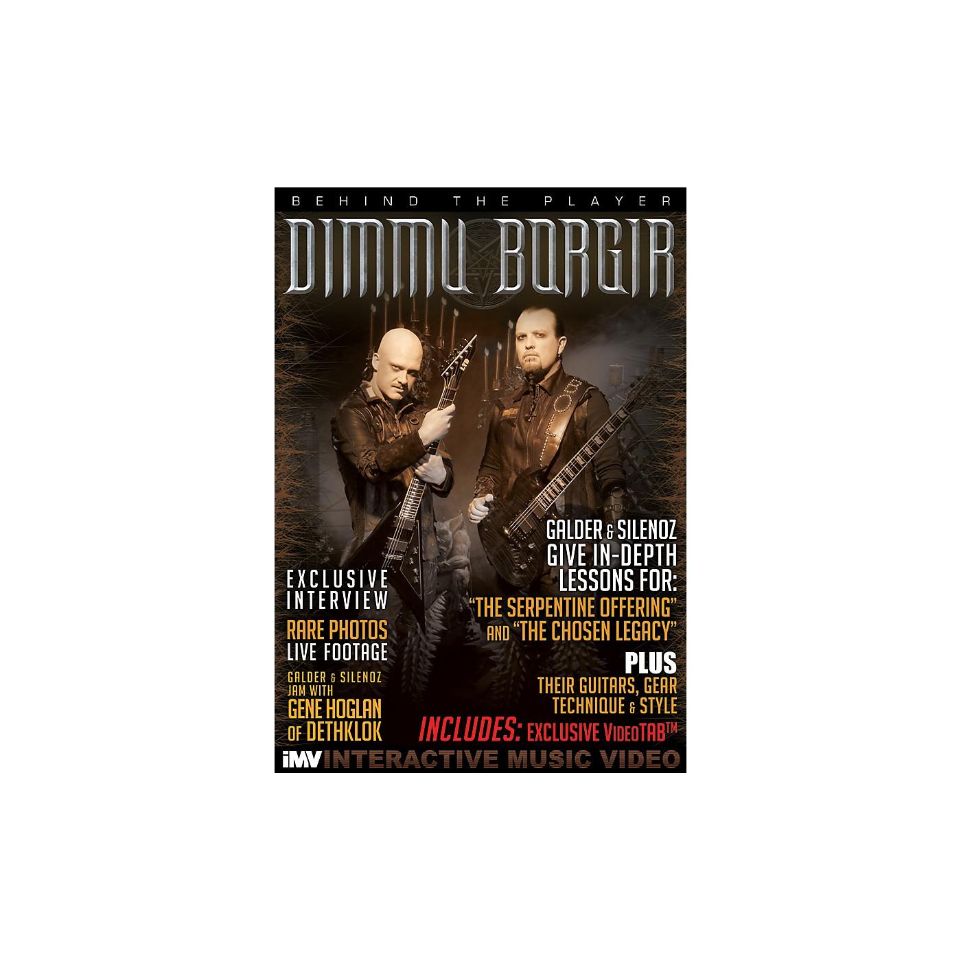 IMV Dimmu Borgir Guitarists Galder & Silenoz Behind the Player DVD thumbnail