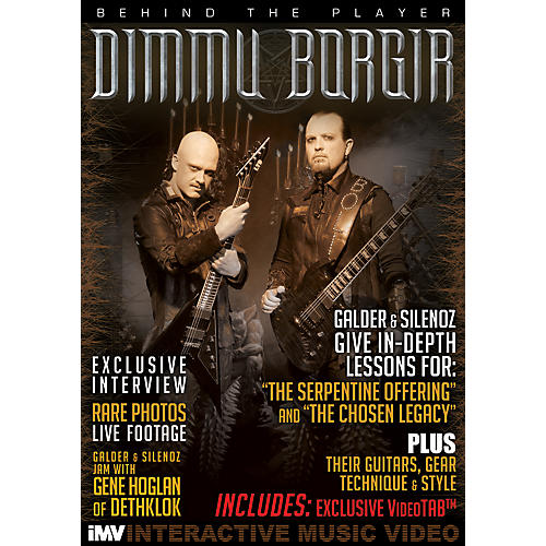 IMV Dimmu Borgir Guitarists Galder & Silenoz Behind the Player DVD thumbnail