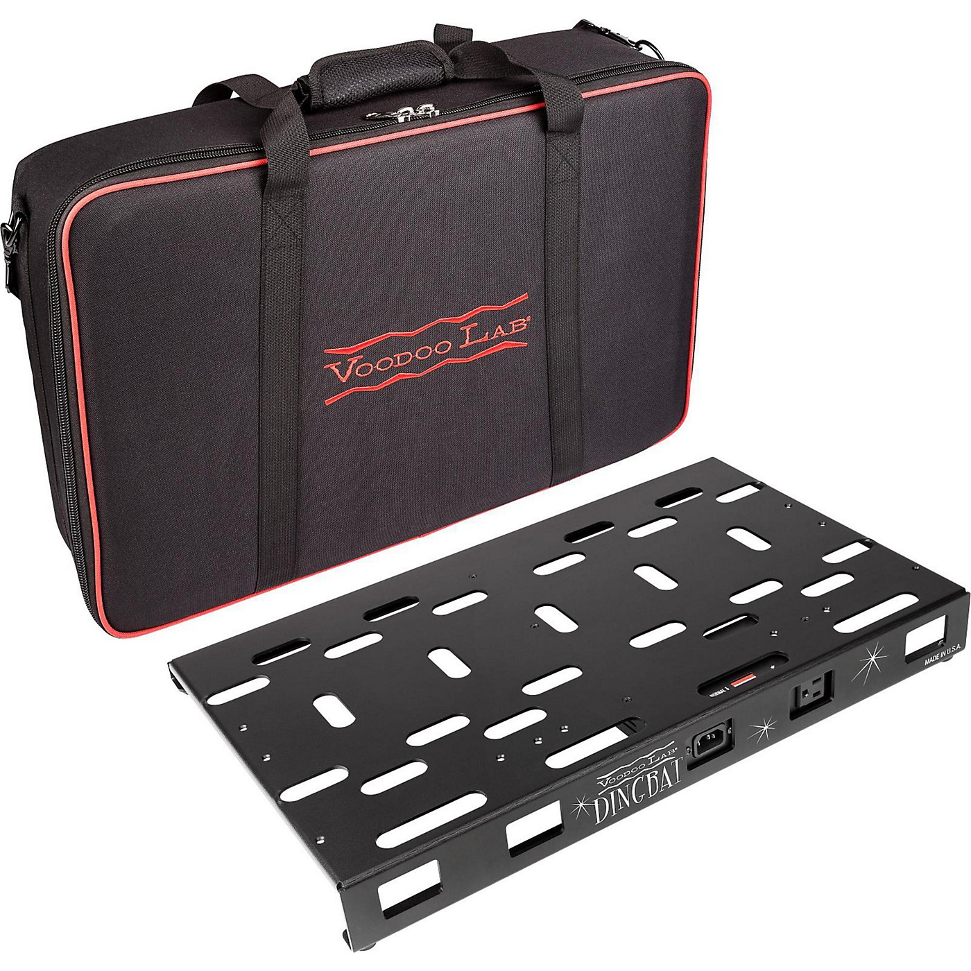 Voodoo Lab Dingbat Medium Pedalboard Power Package with Pedal Power 2 PLUS thumbnail