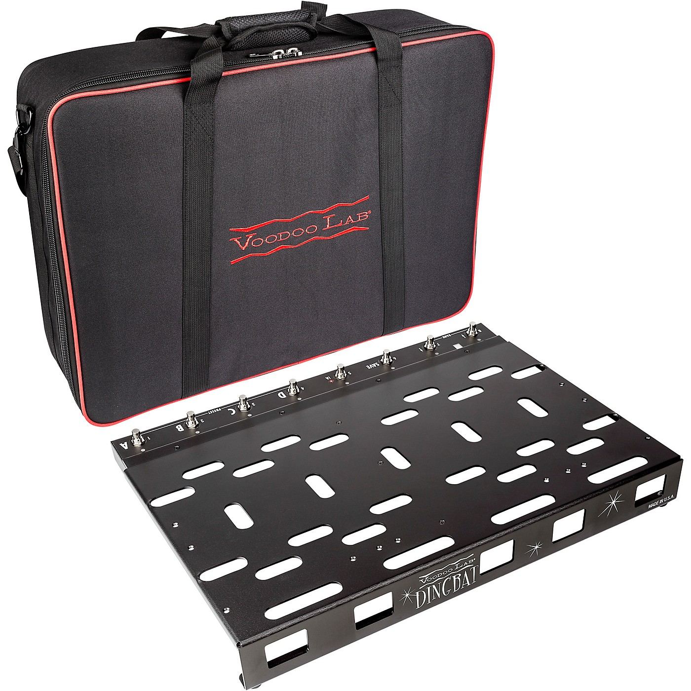 Voodoo Lab Dingbat PX Pedalboard with PX-8 PLUS Pedal Switcher thumbnail