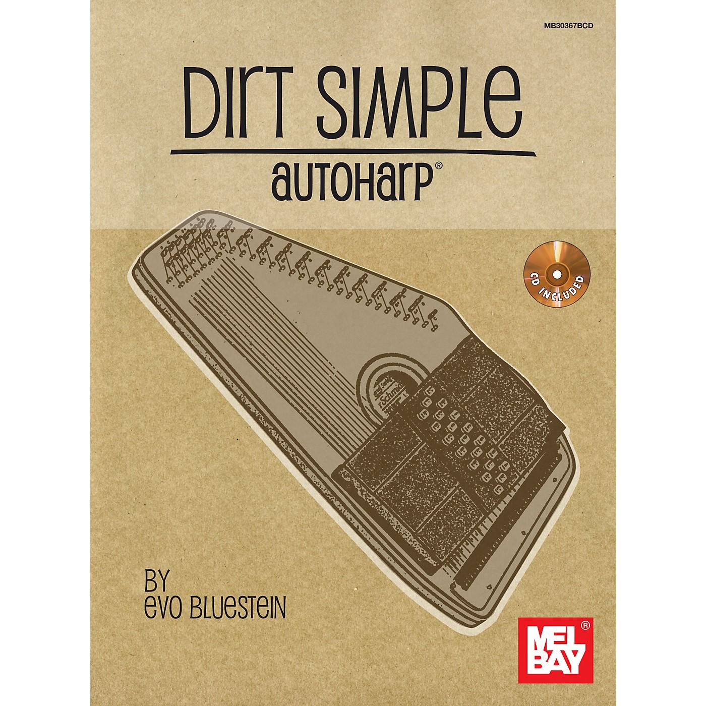 Mel Bay Dirt Simple Autoharp (Book/CD) thumbnail