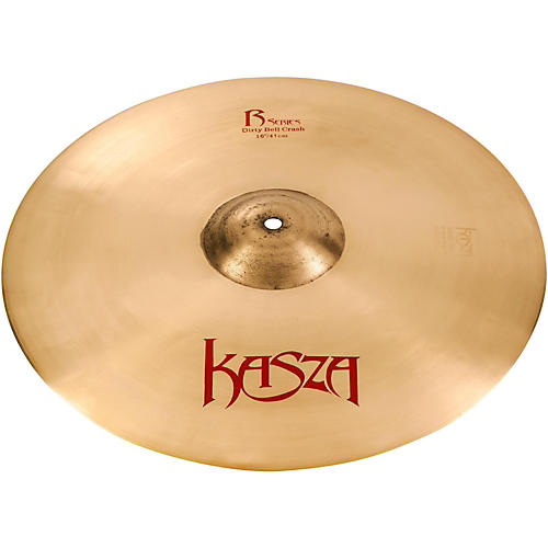 Kasza Cymbals Dirty Bell Rock Crash Cymbal thumbnail