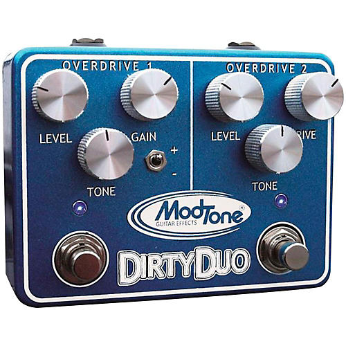 Modtone Dirty Duo Guitar Effects Pedal thumbnail