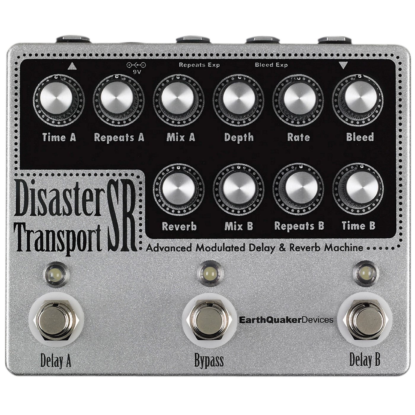EarthQuaker Devices Disaster Transport SR Advanced  Modulated Delay & Reverb Guitar Effects Pedal thumbnail