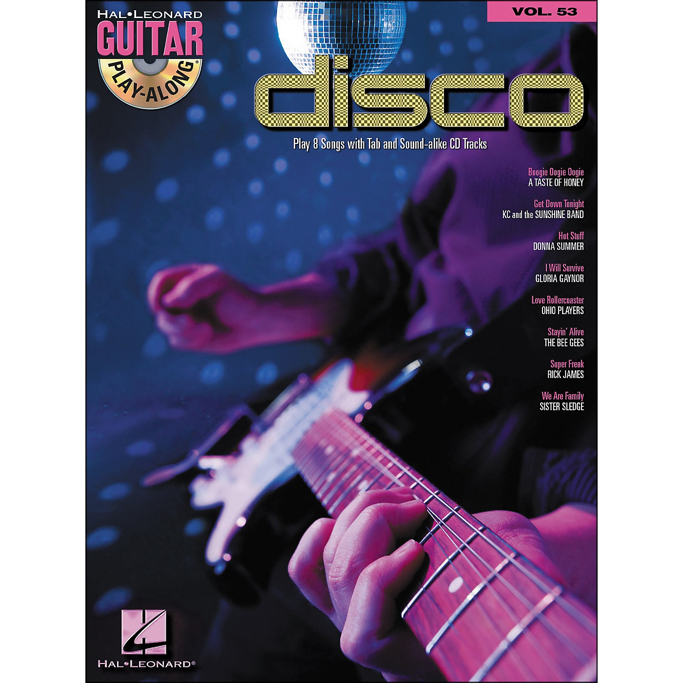 Hal Leonard Disco - Guitar Play-Along Volume 53 (Book/CD) thumbnail