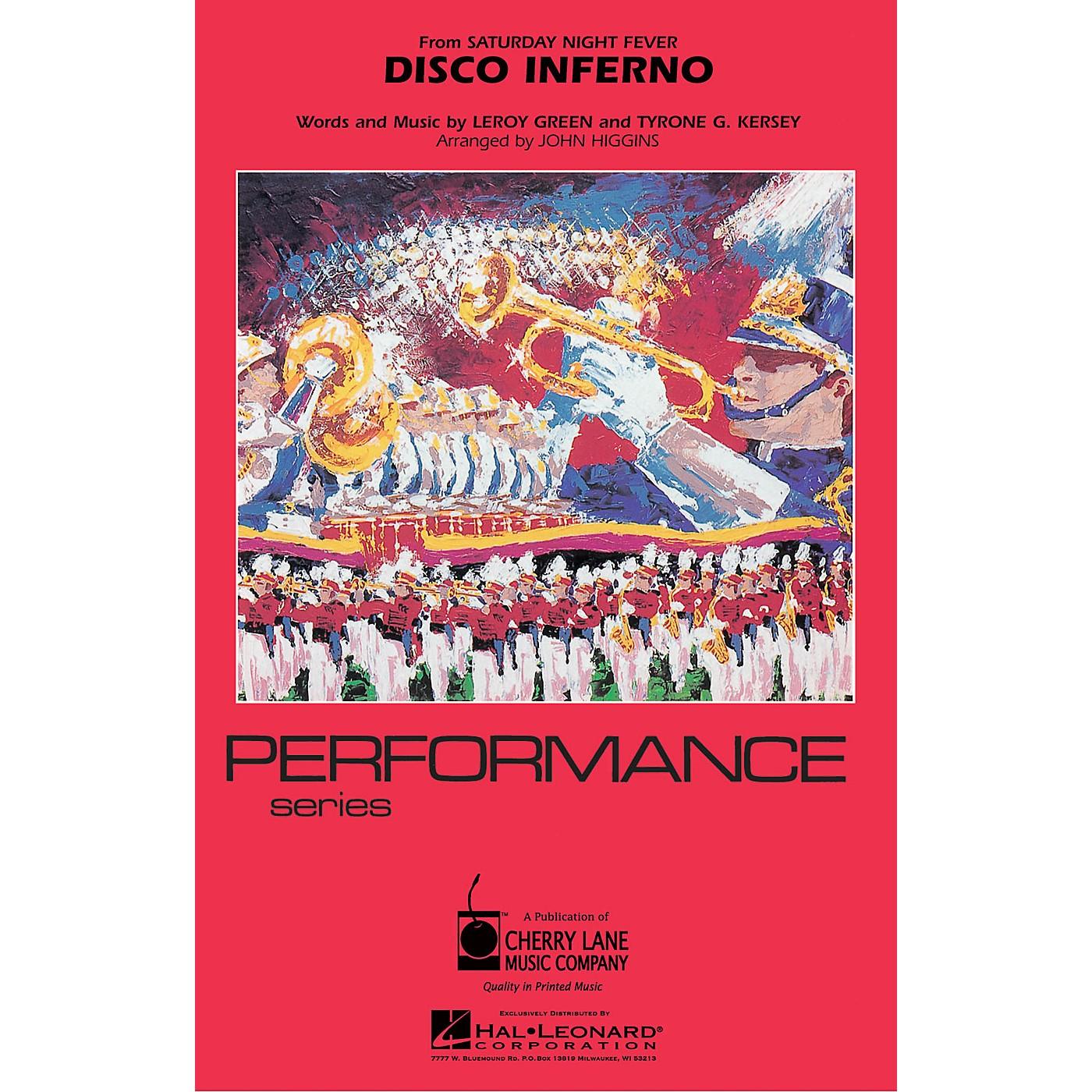 Cherry Lane Disco Inferno Marching Band Level 3 Arranged by John Higgins thumbnail