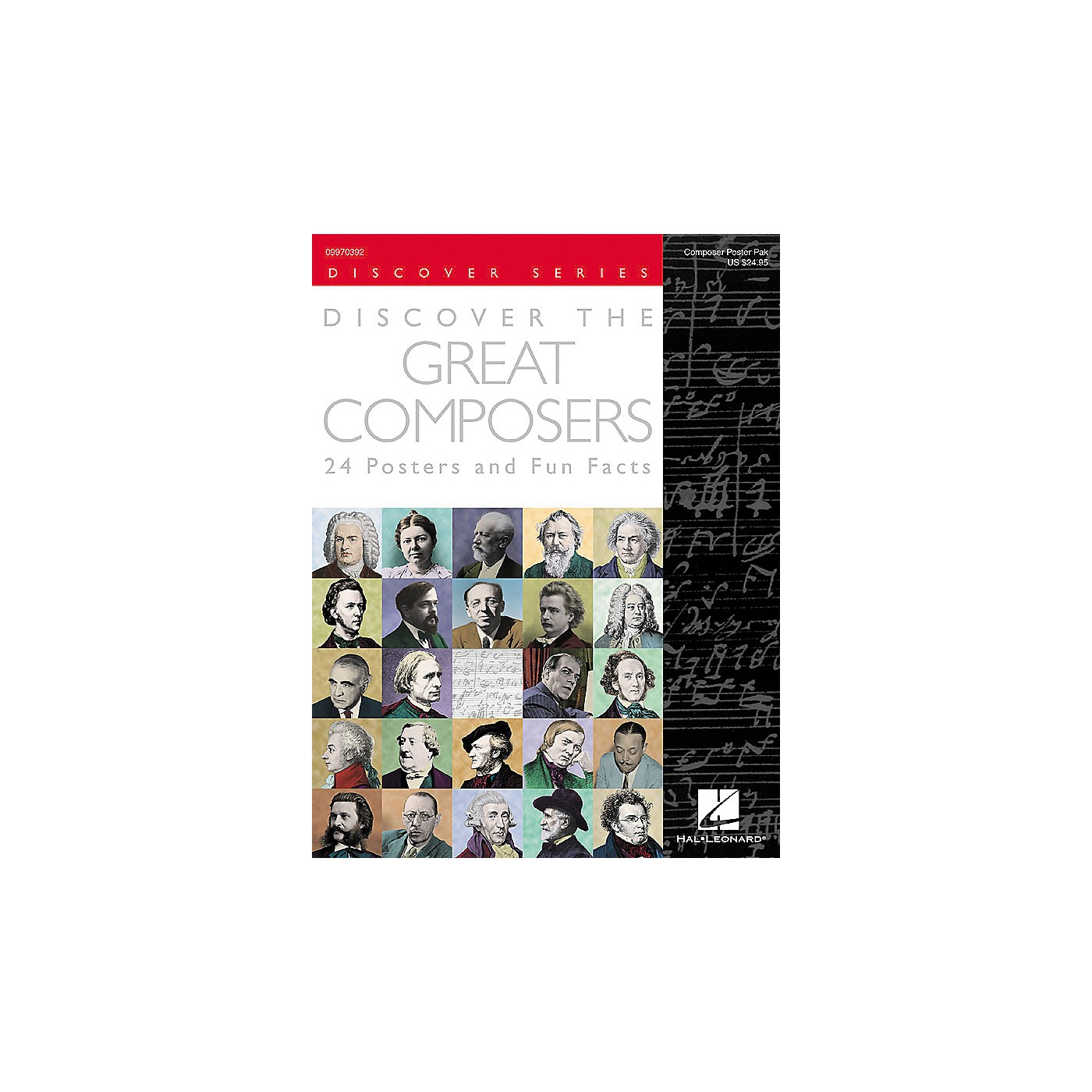 Hal Leonard Discover the Great Composers Posters thumbnail