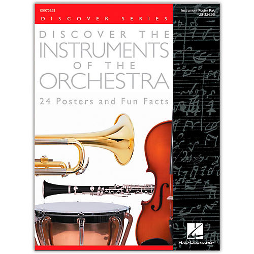 Hal Leonard Discover the Instruments of the Orchestra Posters thumbnail
