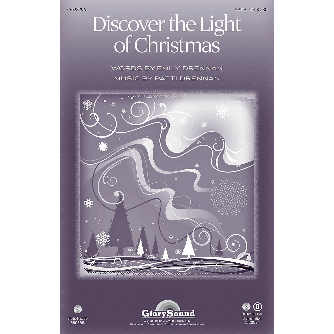 Shawnee Press Discover the Light of Christmas SATB composed by Patti Drennan thumbnail