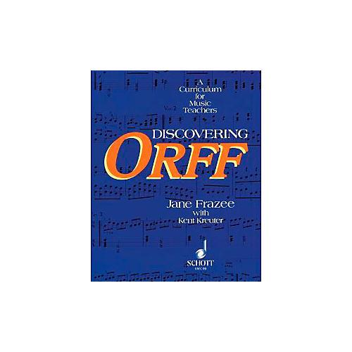 Schott Discovering Orff - A Curriculum For Music Teachers-thumbnail
