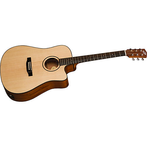 Bedell Discovery BDDCE-18-M Dreadnaught Cutaway Acoustic-Electric Guitar thumbnail