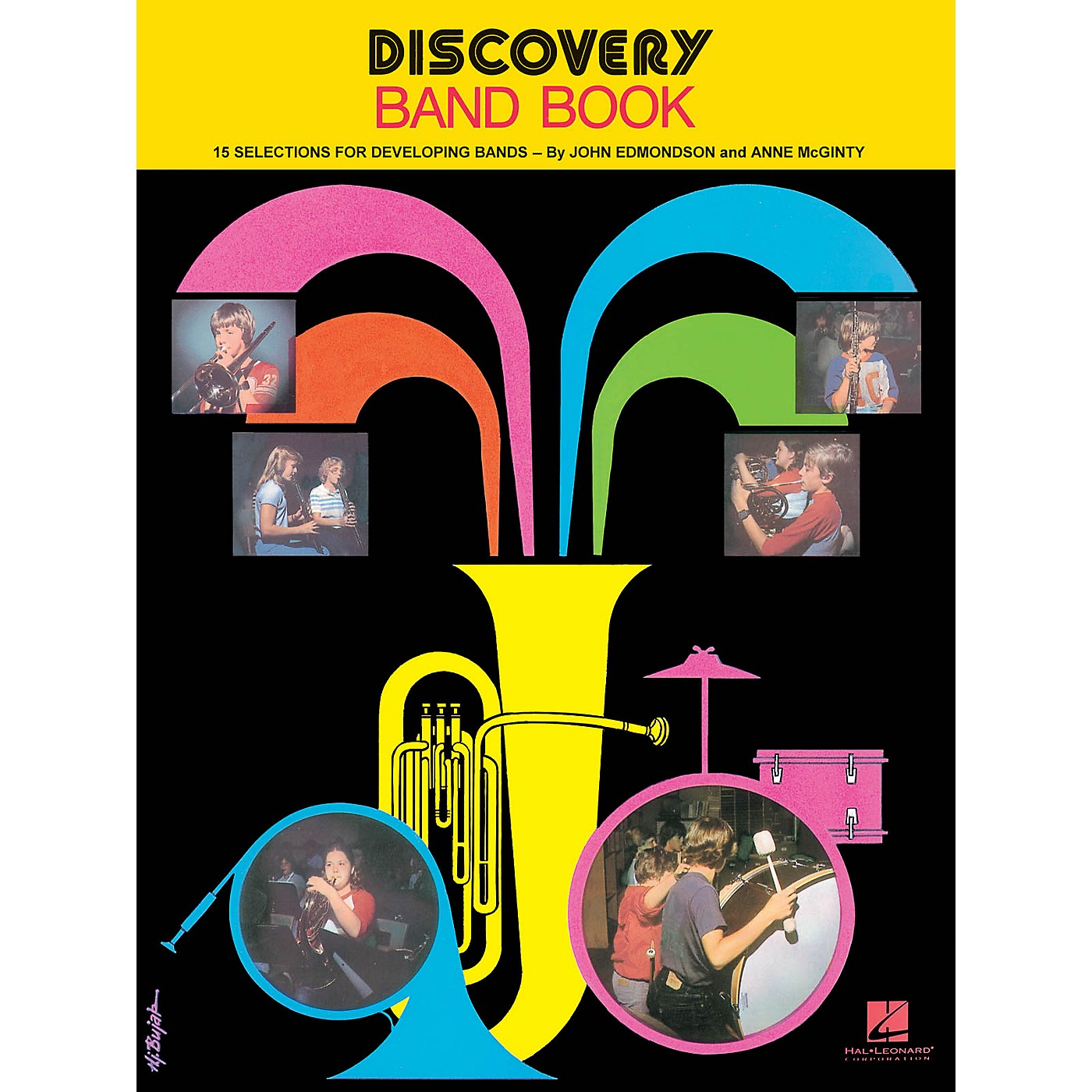 Hal Leonard Discovery Band Book #1 (Baritone T.C.) Concert Band Composed by Anne McGinty thumbnail