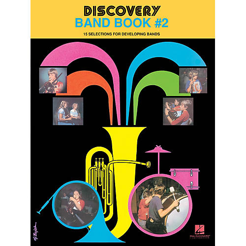 Hal Leonard Discovery Band Book #2 (Trombone/Baritone/Bassoon) Concert Band Level 1 Composed by Anne McGinty thumbnail