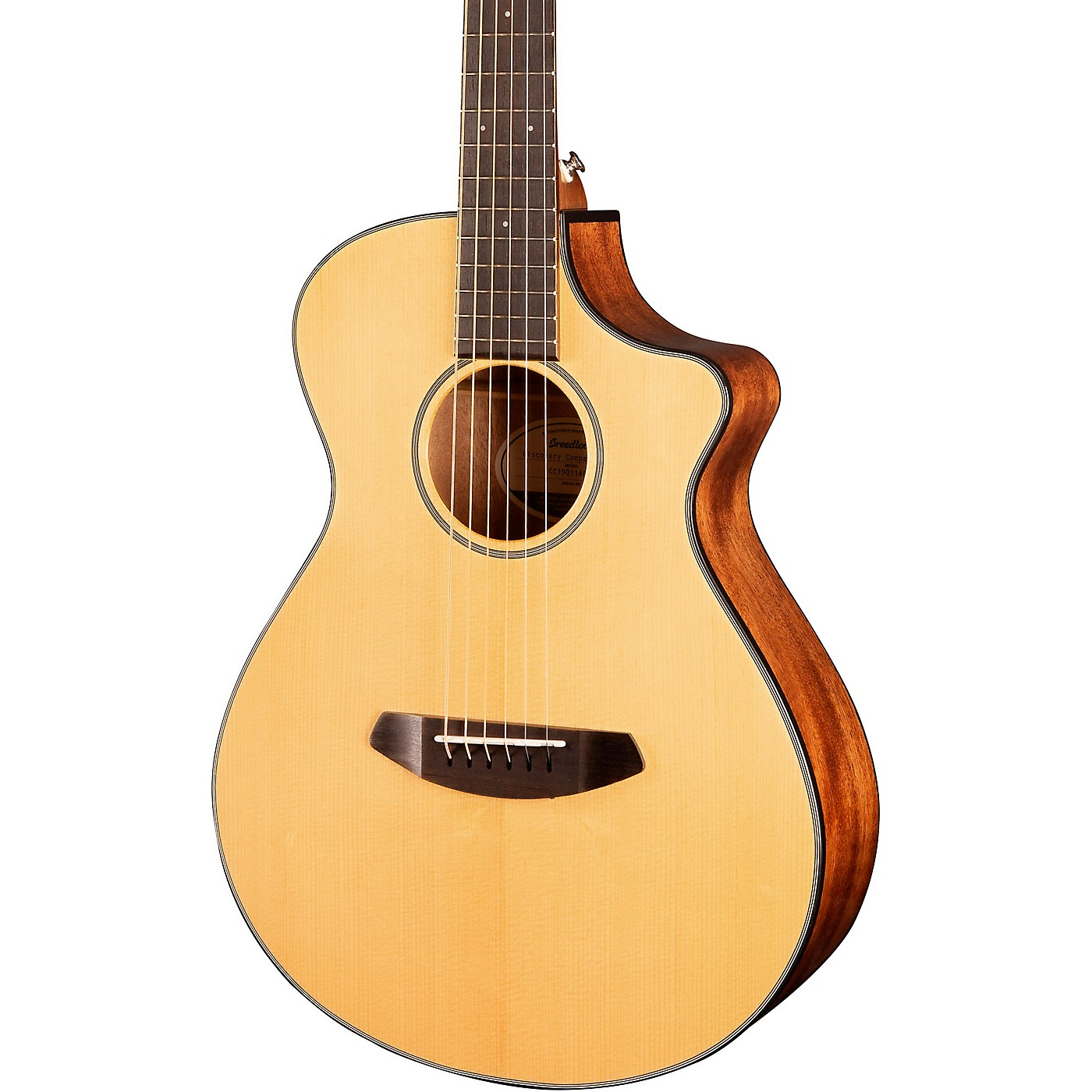 Breedlove Discovery Companion CE Acoustic-Electric Guitar thumbnail