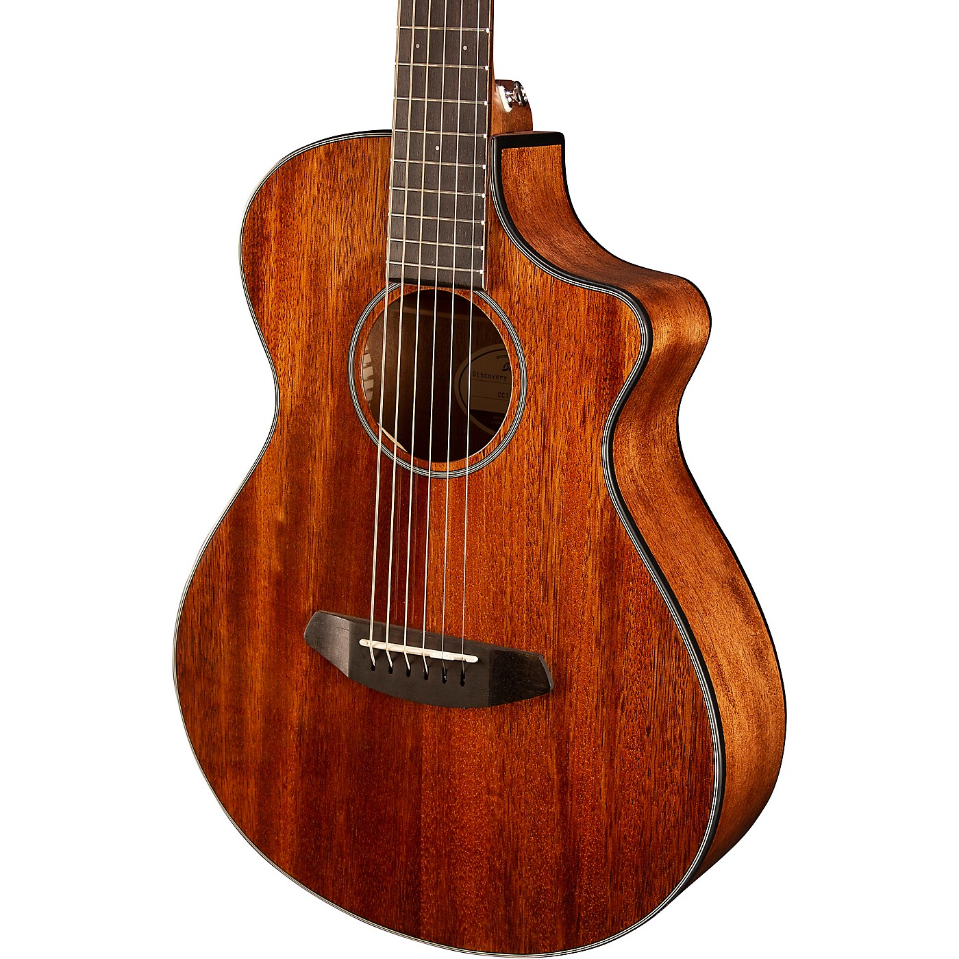 Breedlove Discovery Companion CE Mahogany Acoustic-Electric Guitar thumbnail