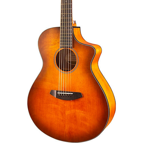 Breedlove Discovery Concert CE Sitka Spruce-Mahogany Satin Bourbon Acoustic-Electric Guitar thumbnail