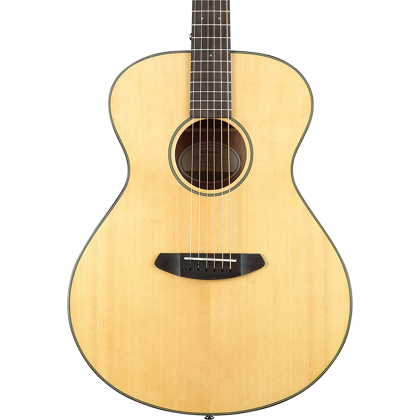 Breedlove Discovery Concert Sitka Spruce - Mahogany Left-Handed Acoustic Guitar thumbnail