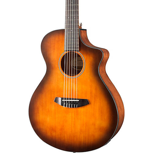 Breedlove Discovery Concert with Englemann Spruce Top Nylon String Acoustic-Electric Guitar thumbnail