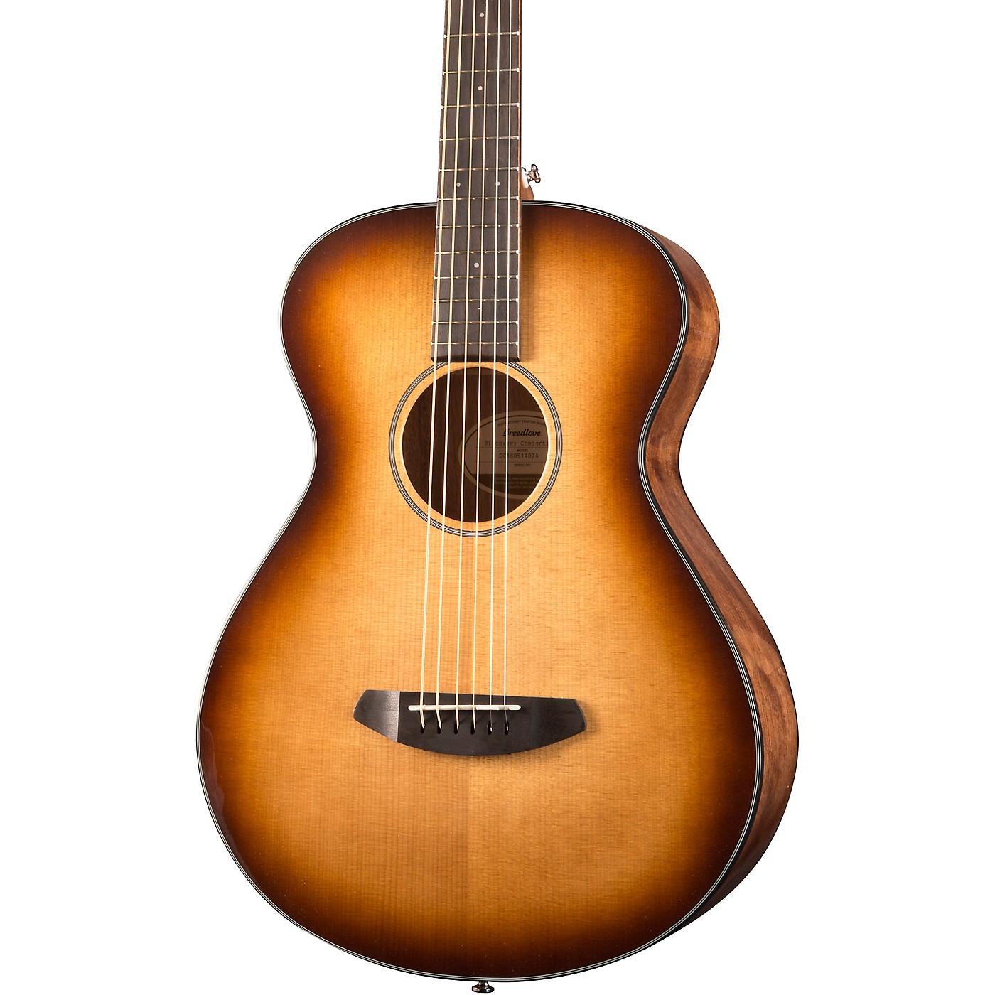 Breedlove Discovery Concertina Sitka Spruce-Mahogany Acoustic Guitar thumbnail
