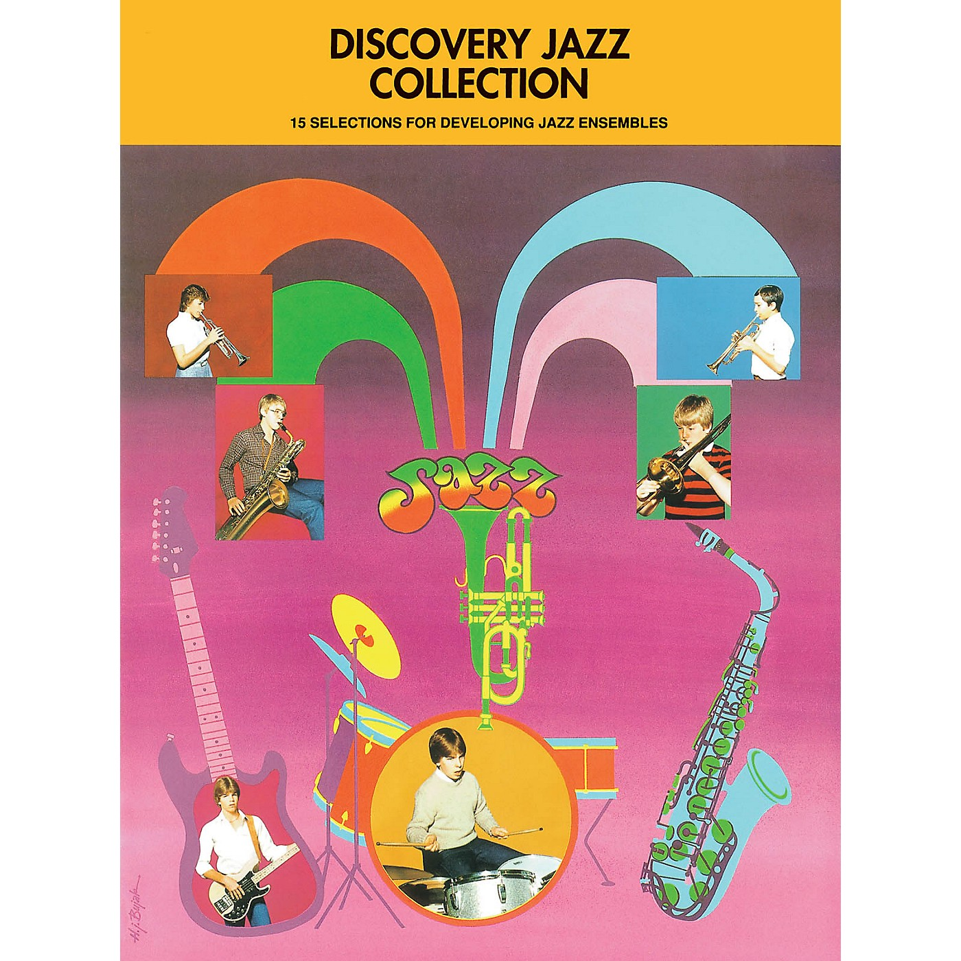 Hal Leonard Discovery Jazz Collection - Baritone Sax Jazz Band Level 1-2 Composed by Various thumbnail
