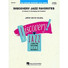 Hal Leonard Discovery Jazz Favorites - Alto Sax 1 Jazz Band Level 1-2 Composed by Various