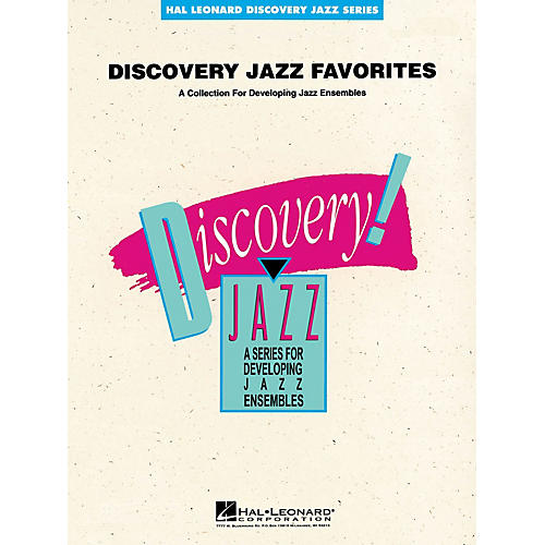 Hal Leonard Discovery Jazz Favorites - Trombone 2 Jazz Band Level 1-2 Composed by Various thumbnail