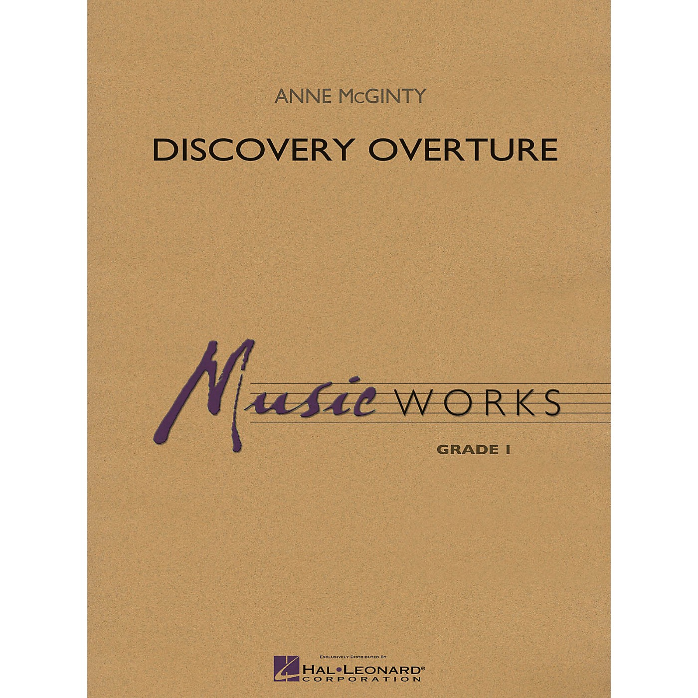 Hal Leonard Discovery Overture Concert Band Level 1 Composed by Anne McGinty thumbnail