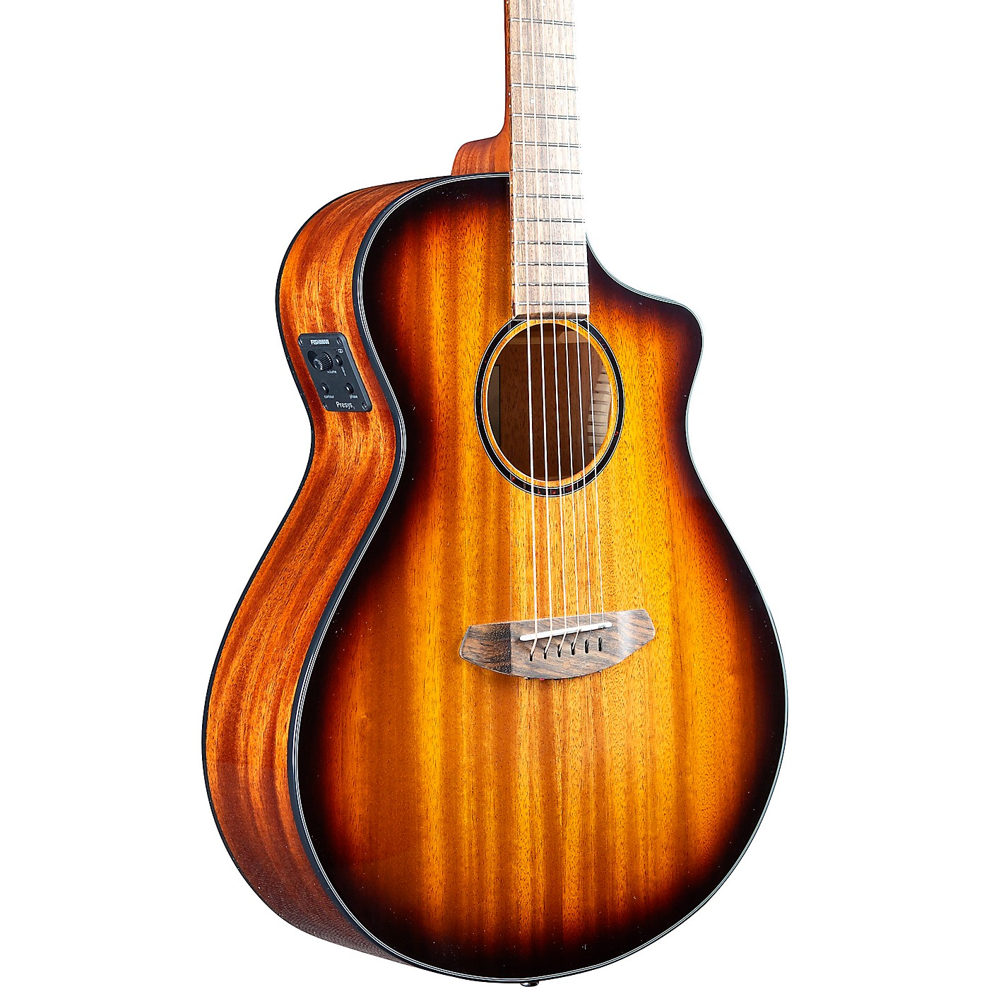 Breedlove Discovery S CE Sitka-African Mahogany Concert Acoustic-Electric Guitar thumbnail