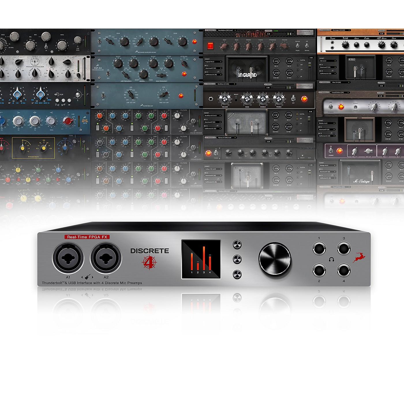 Antelope Audio Discrete 4 with Basic FX Collection thumbnail