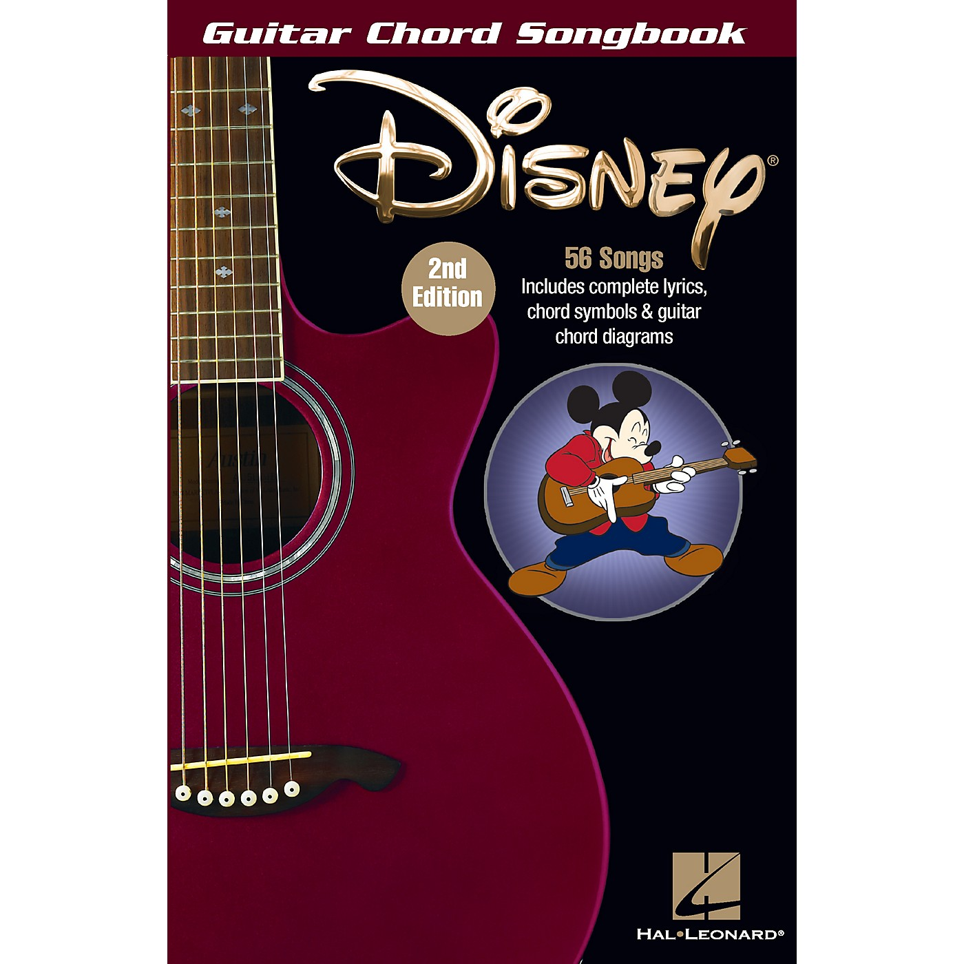 Hal Leonard Disney - Guitar Chord Songbook - 2nd Edition thumbnail