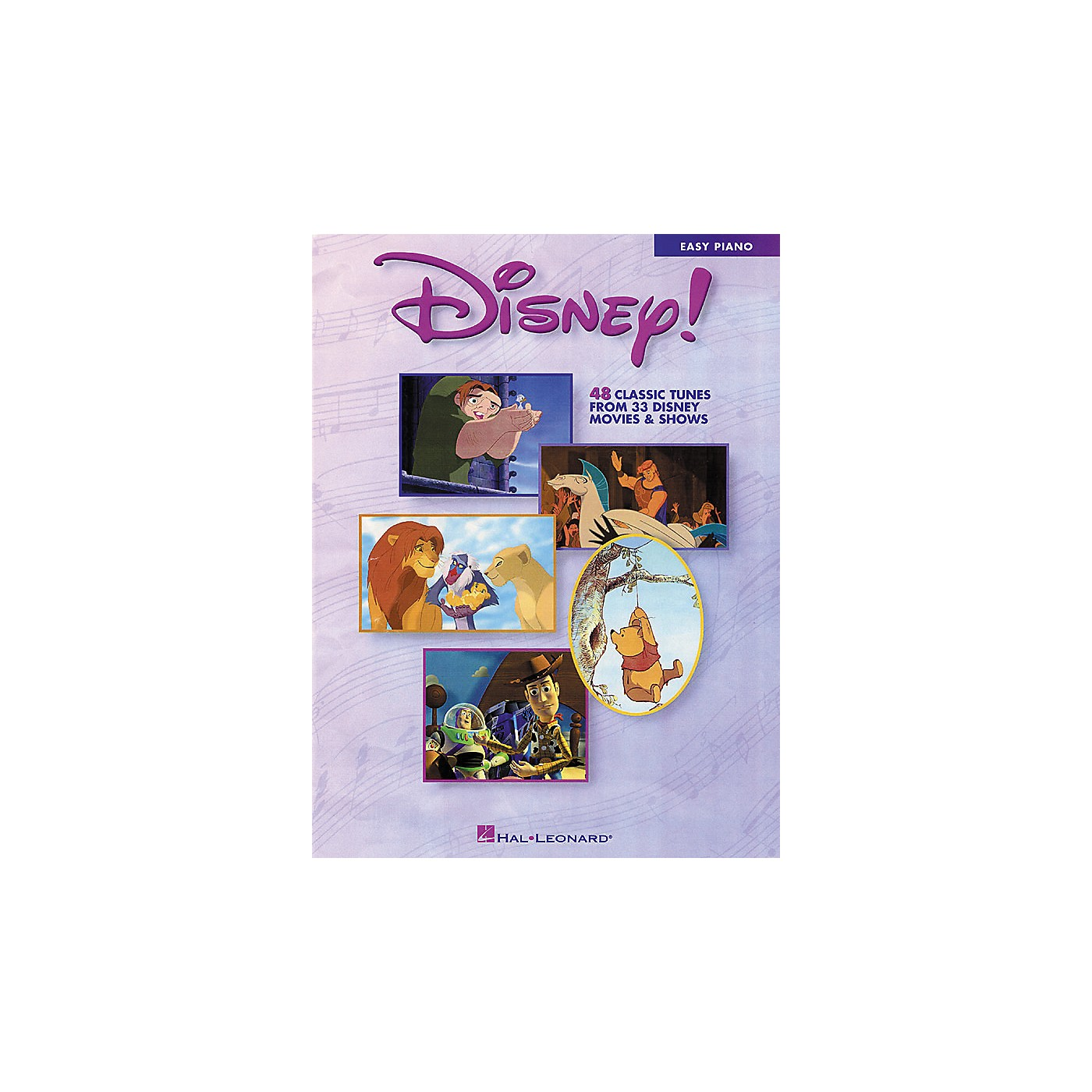 Hal Leonard Disney!  48 Classic Tunes From 33 Disney Movie & Shows For Easy Piano thumbnail