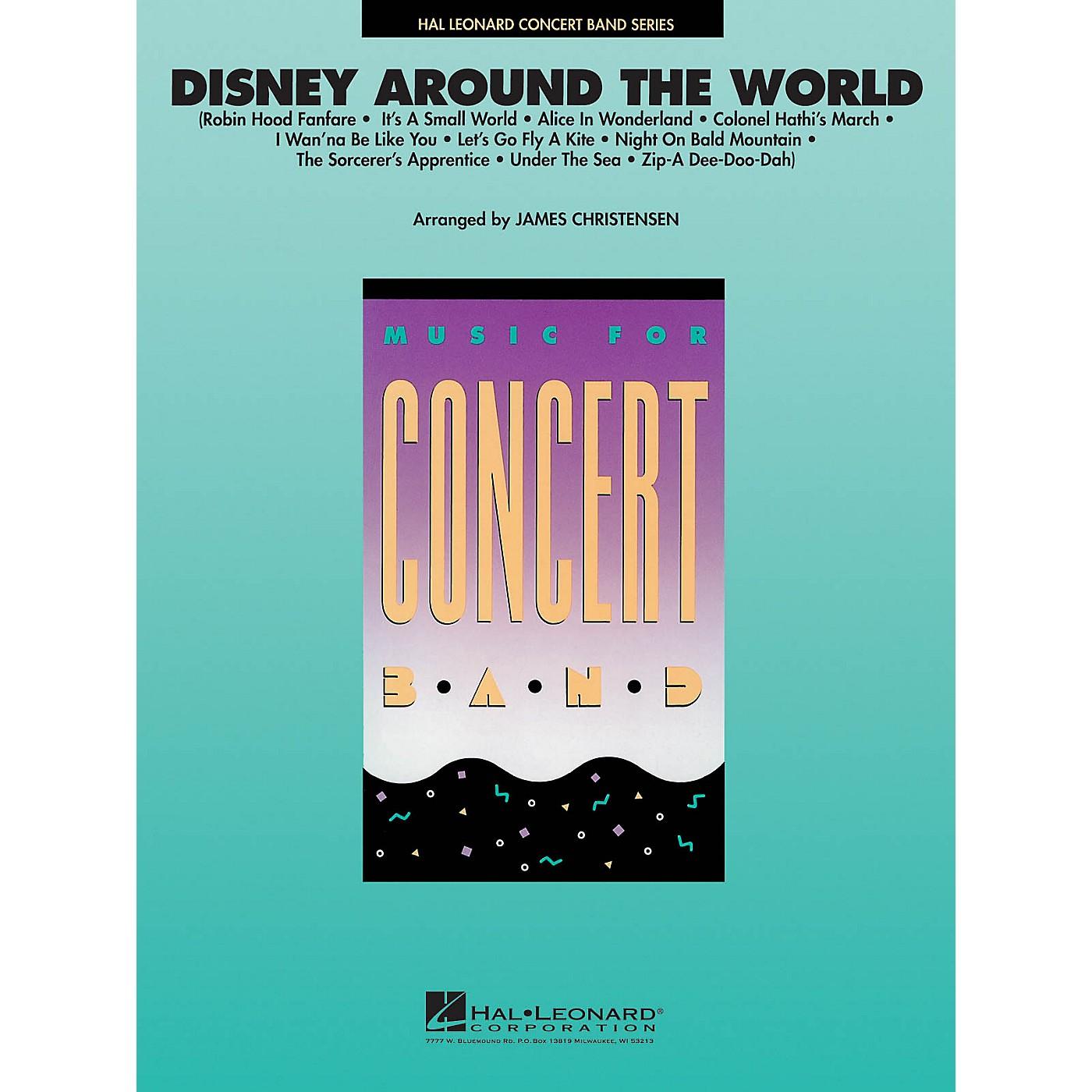 Hal Leonard Disney Around the World Concert Band Level 4 Arranged by James Christensen thumbnail