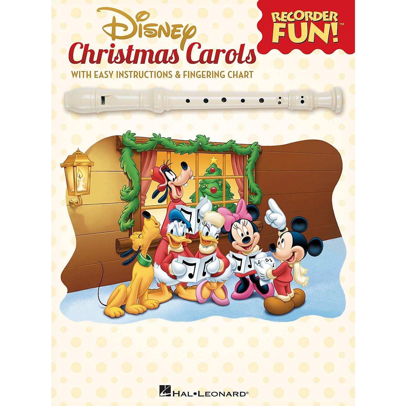 Hal Leonard Disney Christmas Carols Recorder Series Softcover thumbnail