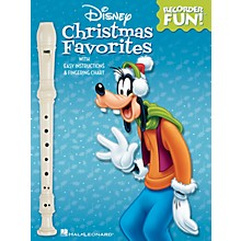 Hal Leonard Disney Christmas Favorites Recorder Series Softcover