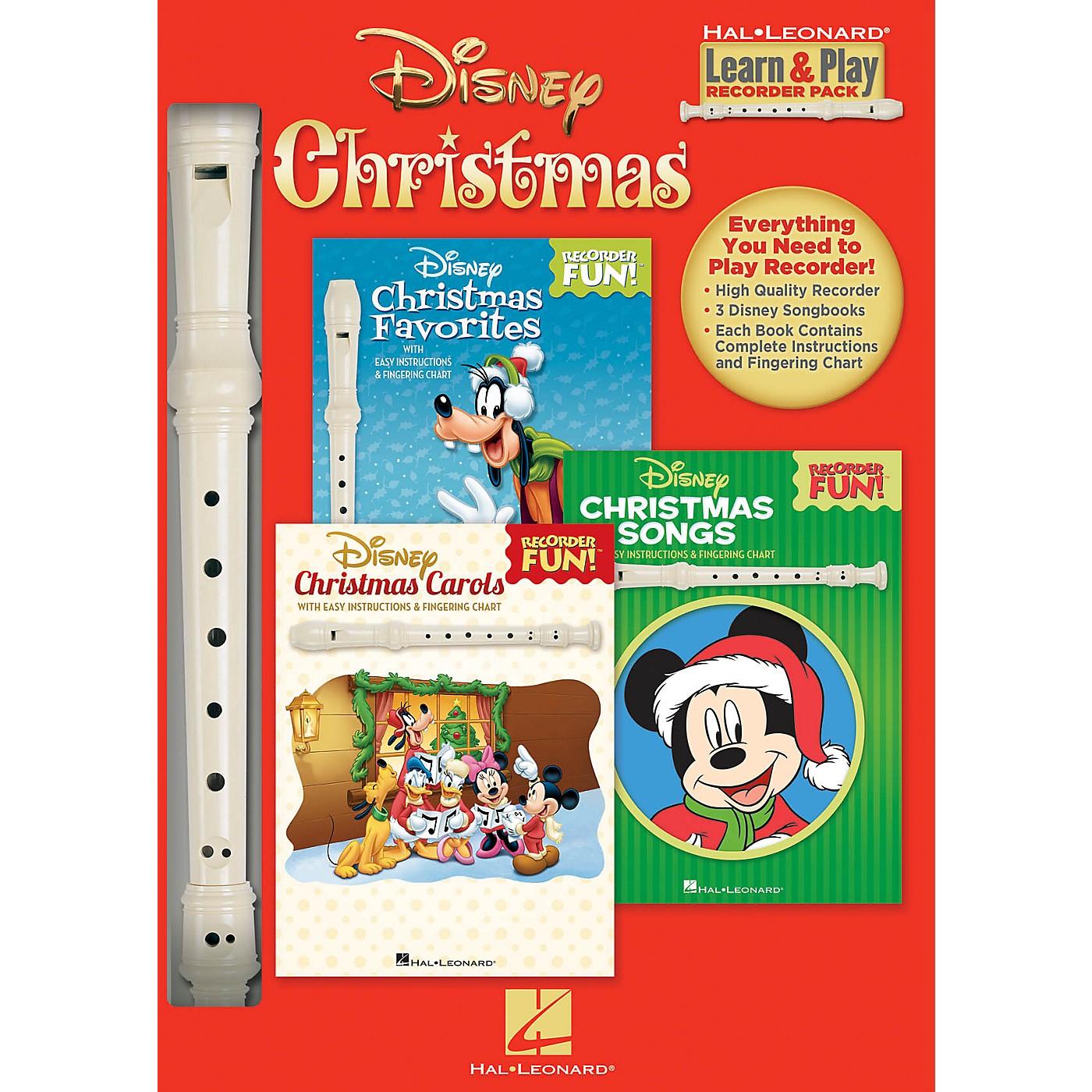 Hal Leonard Disney Christmas (Learn & Play Recorder Pack) Recorder Series General Merchandise thumbnail