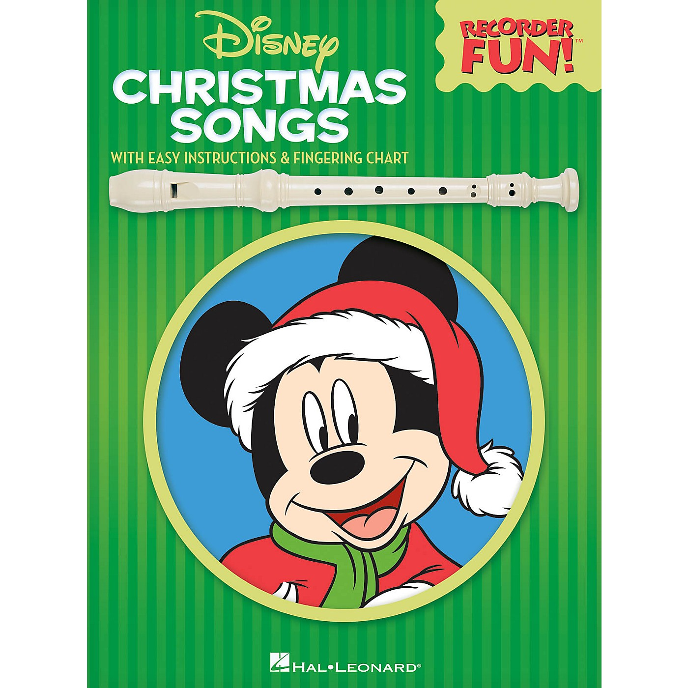 Hal Leonard Disney Christmas Songs Recorder Series Softcover thumbnail