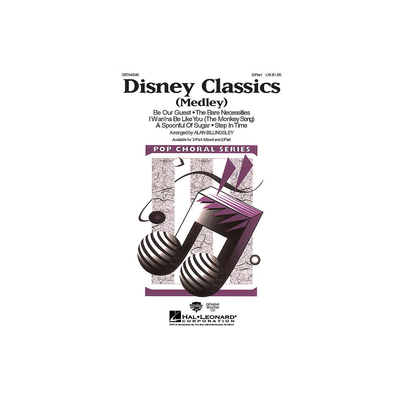 Hal Leonard Disney Classics (Medley) 2-Part arranged by Alan Billingsley thumbnail
