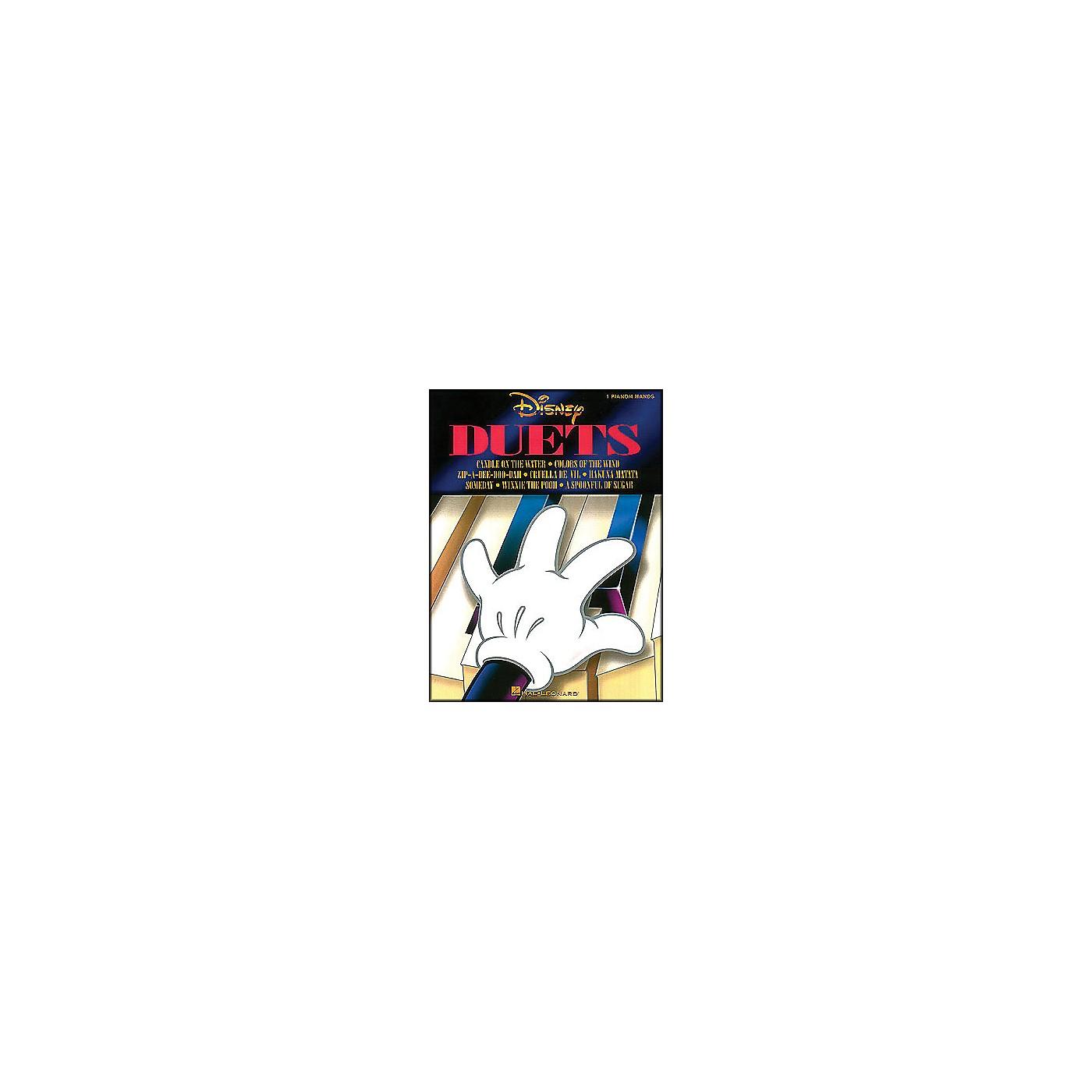 Hal Leonard Disney Duets 1 Piano, 4 Hands thumbnail