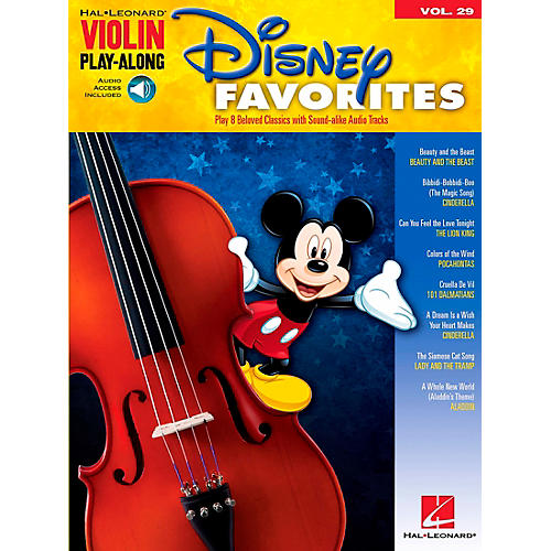 Hal Leonard Disney Favorites - Violin Play-Along Volume 29 Book/CD thumbnail