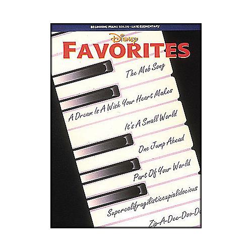 Hal Leonard Disney Favorites Beginning Piano Solos Late Elementary thumbnail