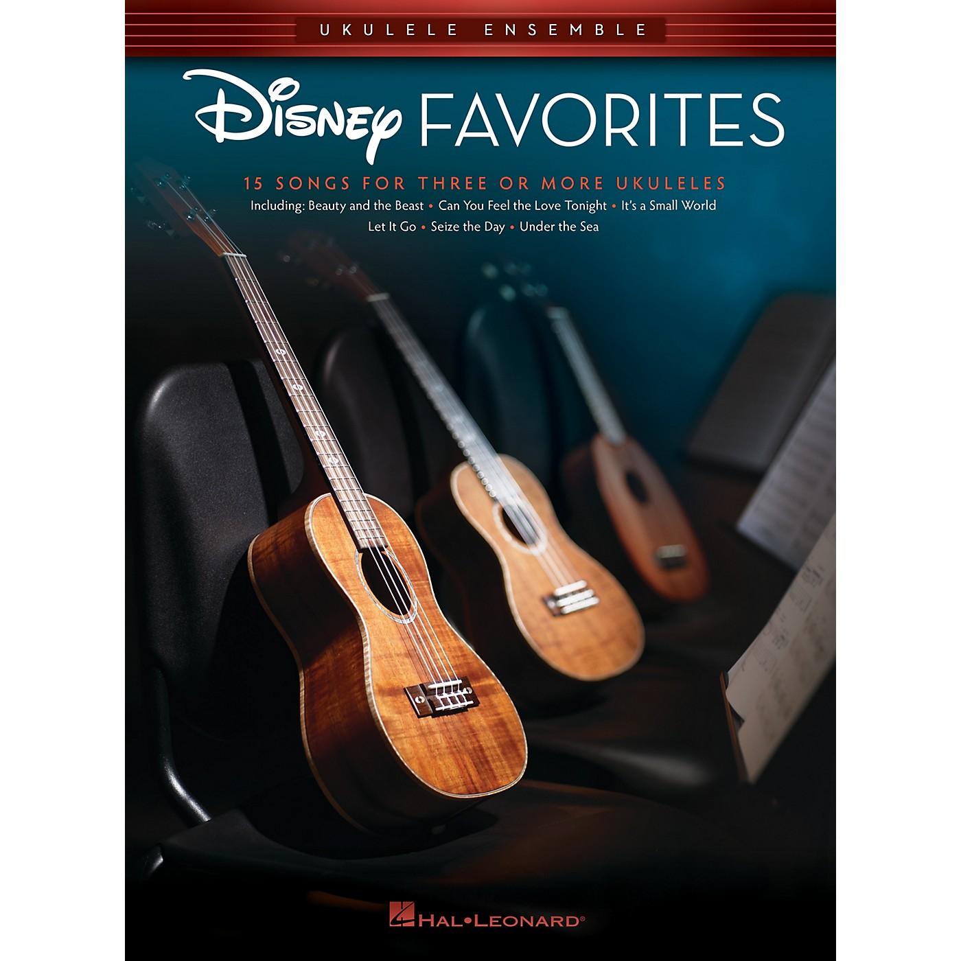 Hal Leonard Disney Favorites (Ukulele Ensembles Early Intermediate) Ukulele Ensemble Songbook thumbnail
