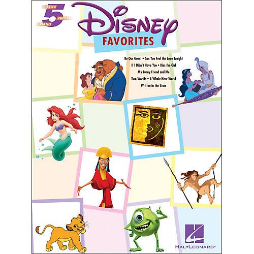 Hal Leonard Disney Favorites for Five Finger Piano thumbnail