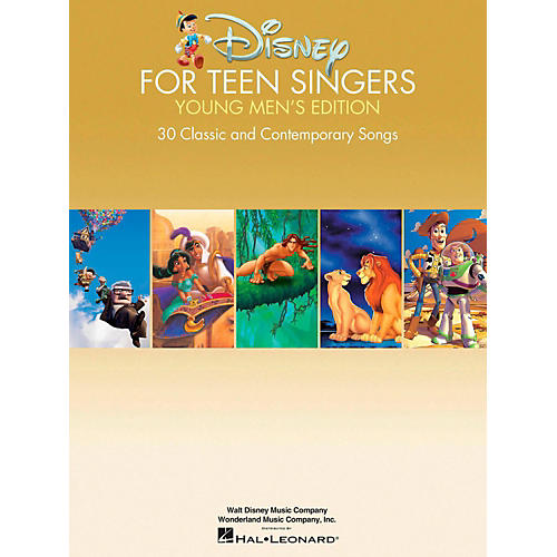 Hal Leonard Disney For Teen Singers - Young Men's Edition thumbnail