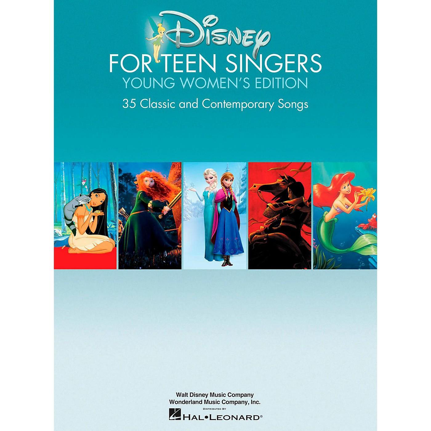 Hal Leonard Disney For Teen Singers - Young Women's Edition thumbnail