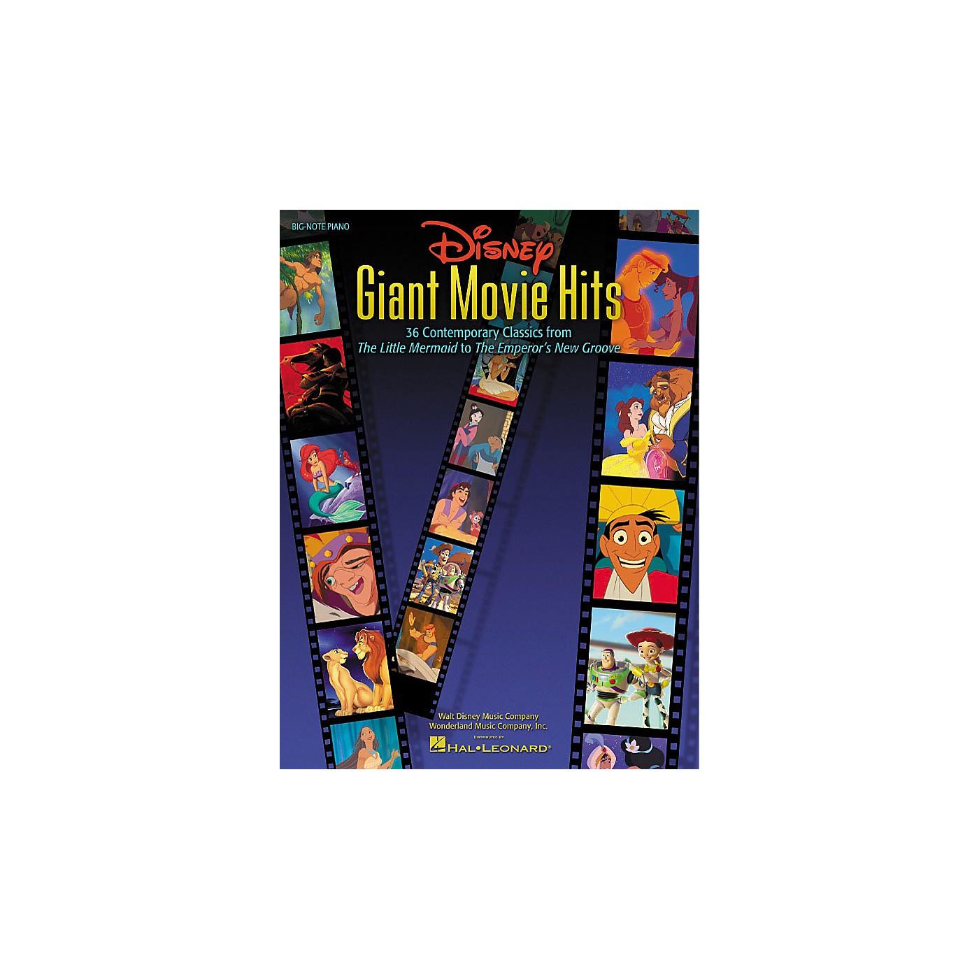 Hal Leonard Disney Giant Movie Hits thumbnail