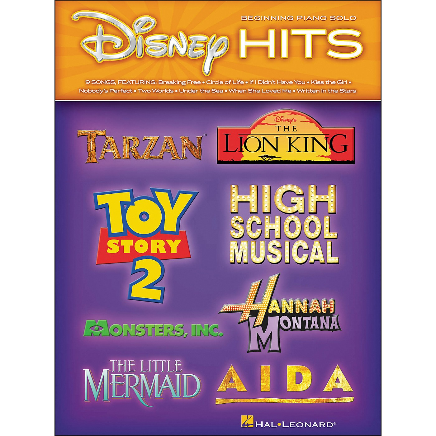Hal Leonard Disney Hits - Beginning Piano Solo thumbnail