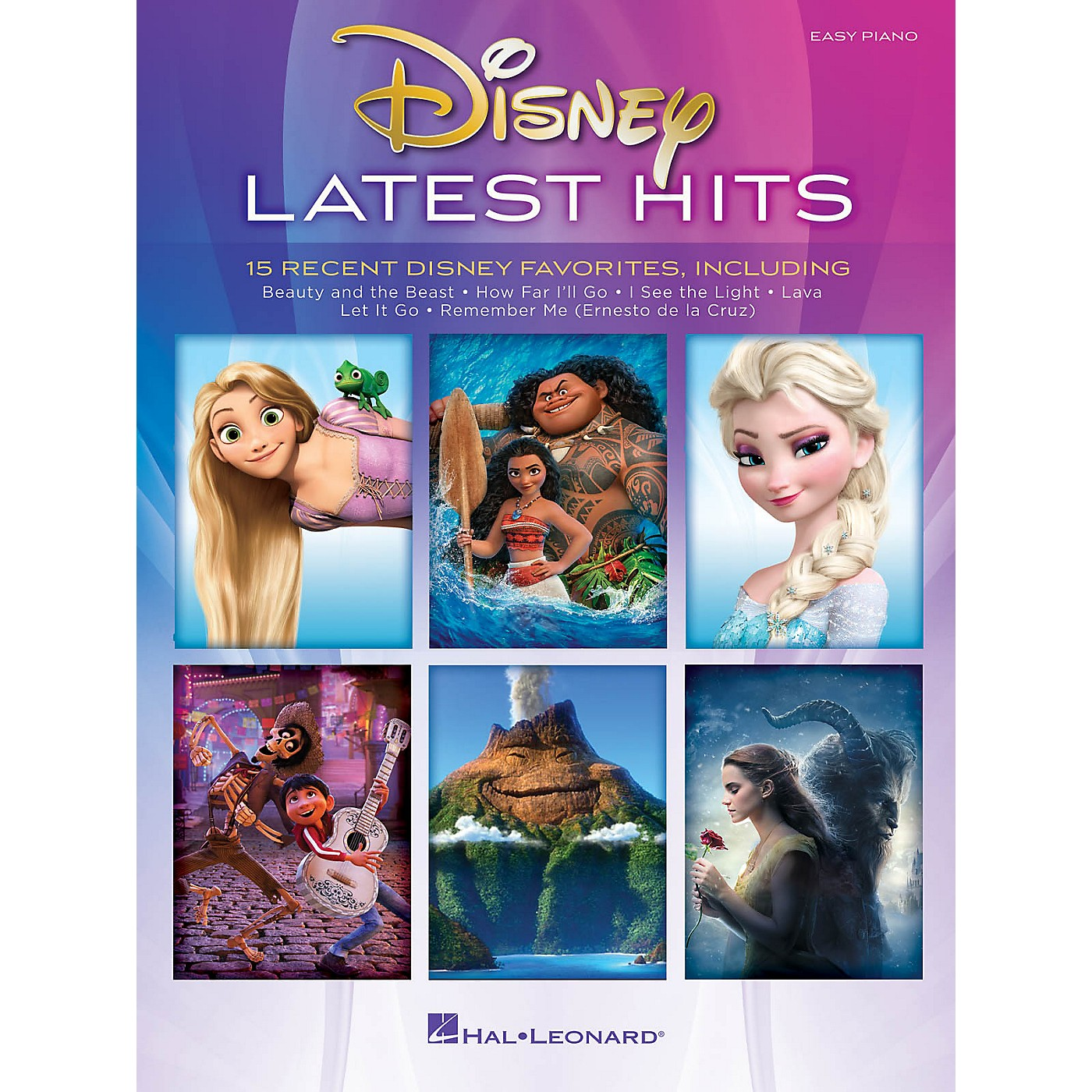 Hal Leonard Disney Latest Hits (15 Recent Disney Favorites) Easy Piano Songbook thumbnail