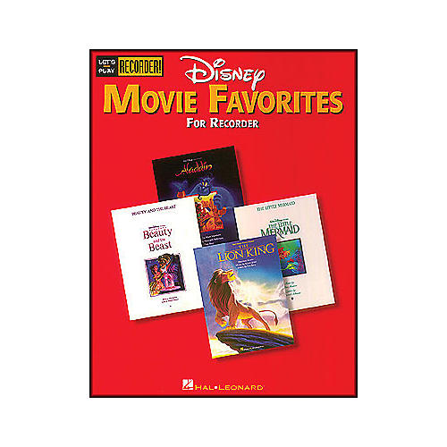 Hal Leonard Disney Movie Favorites Let's Play Recorder! thumbnail